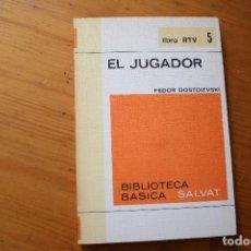 Libros de segunda mano: BIBLIOTECA BÁSICA SALVAT 1972 EL JUGADOR NUMERO 5. Lote 151816398