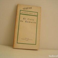Libros de segunda mano: JOSÉ ANTONIO RAMOS SUCRE. EL CIELO DE ESMALTE. Lote 151818114