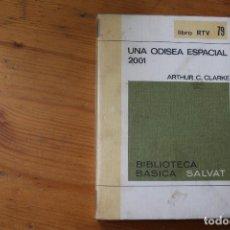 Libros de segunda mano: BIBLIOTECA BÁSICA SALVAT 1972 UNA ODISEA ESPACIAL 2001 NUMERO 79. Lote 151818762