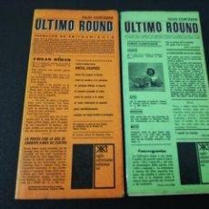 Libros de segunda mano: JULIO CORTAZAR, ÚLTIMO ROUND. Lote 152048862