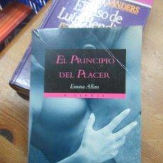 Libros de segunda mano: LIBRO EL PRINCIPIO DEL PLACER EMMA ALLAN 1996 X LIBRIS L-11029-542. Lote 152288802