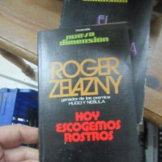Libros de segunda mano: LIBRO HOY ESCOGEMOS ROSTROS ROGER ZELAZNY DRONTE L-11029-551. Lote 152290002