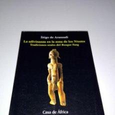 Libros de segunda mano: LIBRO-LA ADIVINANZA EN LA ZONA DE LOS NTUMU-ÍÑIGO DE ARANZADI-2ªEDICIÓN-1999-COL.CASA DE ÁFRICA. Lote 152490242
