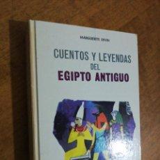 Libros de segunda mano: MARGUERITE DIVING, CUENTOS Y LEYENDAS DEL ANTIGUO EGIPTO . Lote 152493390