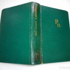 Libros de segunda mano: ALEXANDR SOLZHENITSYN OBRAS ESCOGIDAS Y92801. Lote 153800562