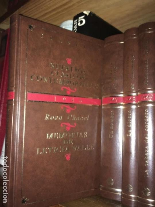 Libros de segunda mano: NUESTROS CLÁSICOS CONTEMPORÁNEOS - PLANETA - 1946 A 1995 - 50 LIBROS - NOVELA ESPAÑOLA - Foto 2 - 153827898