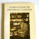 Libros de segunda mano: NARRACIONES DE HISTORIAS Y CUENTOS - VICTOR LUCAS HURLE. Lote 154071410