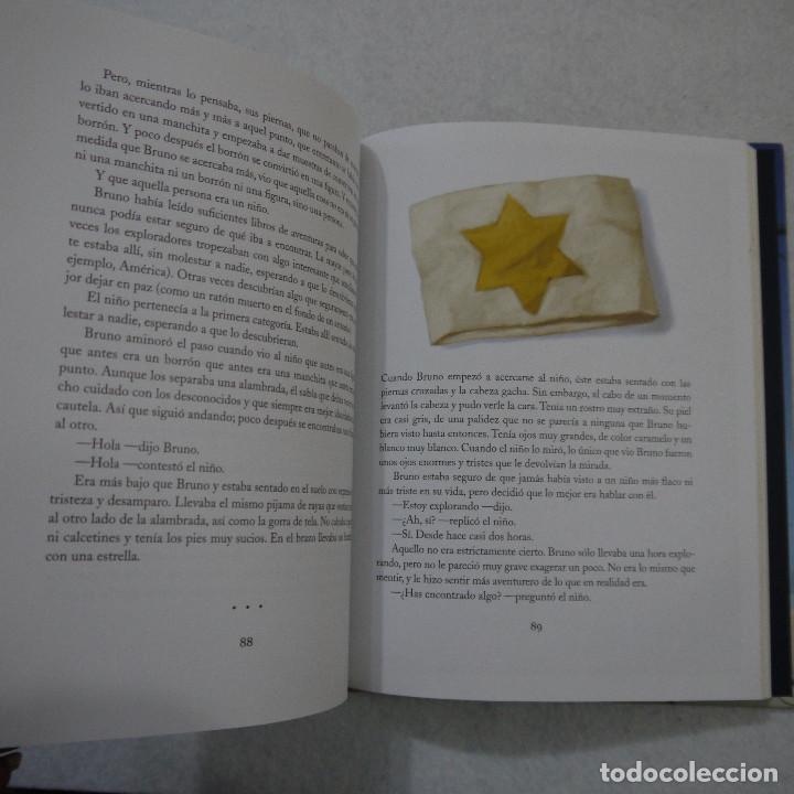 Libros de segunda mano: EL NIÑO DEL PIJAMA DE RAYAS. CON ILUSTRACIONES DE GIANNI DE CONNO - JOHN BOYNE - SALAMANDRA - 2010 - Foto 2 - 154655138