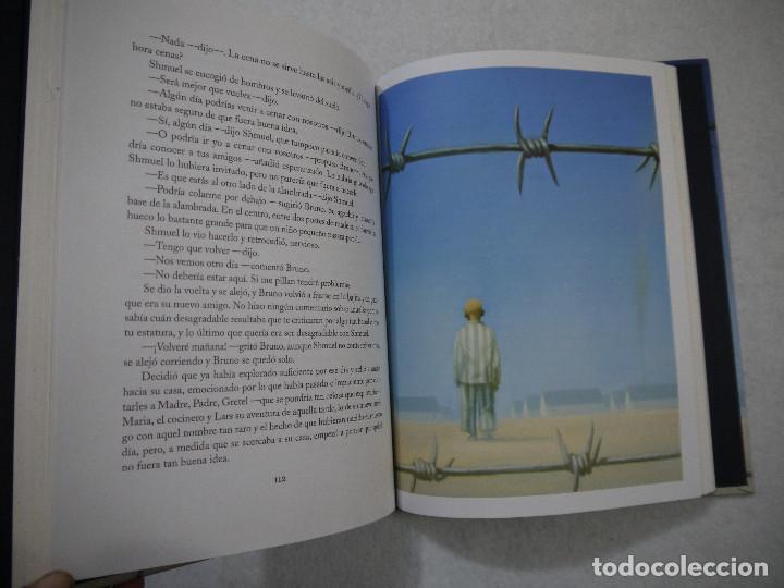 Libros de segunda mano: EL NIÑO DEL PIJAMA DE RAYAS. CON ILUSTRACIONES DE GIANNI DE CONNO - JOHN BOYNE - SALAMANDRA - 2010 - Foto 6 - 154655138