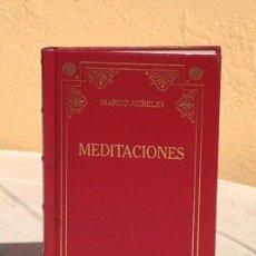 Libros de segunda mano: MARCO AURELIO: MEDITACIONES. Lote 154674810