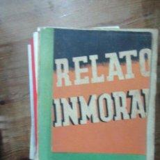 Libros de segunda mano: LIBRO RELATO INMORTAL W. FERNANDEZ FLOREZ 1942 LIBRERIA GENERAL L-19161. Lote 155000254