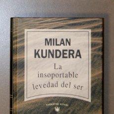 Libros de segunda mano: LA INSOPORTABLE LEVEDAD DEL SER MILAN KUNDERA. Lote 155705718