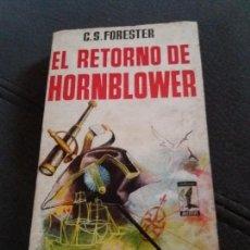 Libros de segunda mano: EL RETORNO DE HORNBLOWER. Lote 155743006
