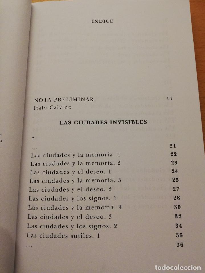 Gebrauchte Bücher: LAS CIUDADES INVISIBLES (ITALO CALVINO) SIRUELA - Foto 3 - 155864150