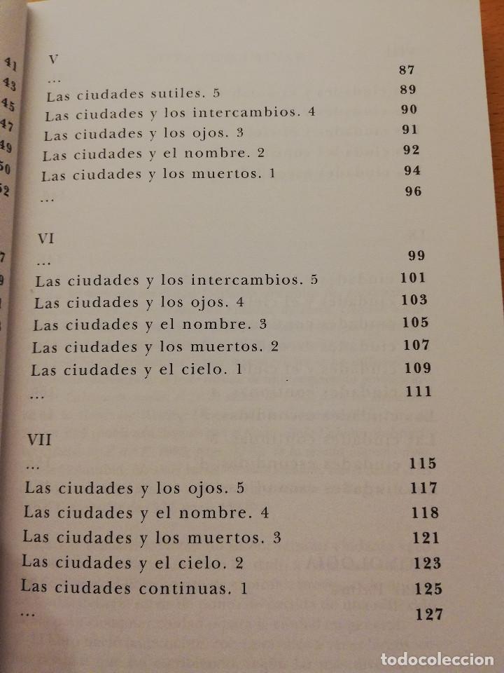 Gebrauchte Bücher: LAS CIUDADES INVISIBLES (ITALO CALVINO) SIRUELA - Foto 5 - 155864150