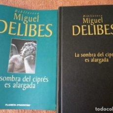 Libros de segunda mano: LIBRO. LA SOMBRA DEL CIPRÉS ES ALARGADA, DE MIGUEL DELIBES. NUEVO SIN USAR. Lote 155874334