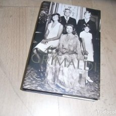 Libros de segunda mano: MARIA EUGENIA YAGUE, LOS GRIMALDI, 1 ED. 2005. Lote 155913010