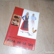 Libros de segunda mano: FRAY VALENTIN DE LA CRUZ, POZA DE LA SAL, ED. LA OLMEDA, 1992. Lote 155913174