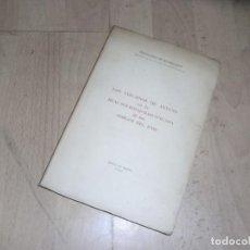 Libros de segunda mano: FERNANDO DE ECHEGARAY, LOS VIZCAINOS DE ANTAÑO EN LA REAL SOCIEDAD BASCONGADA DE AMIGOS DEL PAIS,196. Lote 155914290