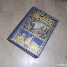 Libros de segunda mano: HERRERO MIGUEL, HISTORIA DE LA CIVILIZACION, BIBLIOTECA HISPANIA, ED. RAMON SOPENA, 1935. Lote 155914558