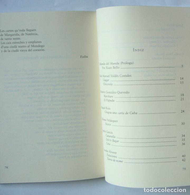 Libros de segunda mano: EL SENTIMIENTU DE LA TIERRA - ANTOLOXIA DE LLITERATURA ASTURIANA CONTEMPORANEA - XUAN BELLO - Foto 2 - 156454354