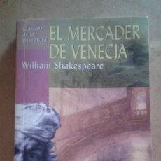Libros de segunda mano: EL MERCADER DE VENECIA DE WILLIAM SHAKESPEARE. Lote 156455534