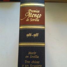 Libros de segunda mano: PREMIOS ATENEO DE SEVILLA 1986-1988. Lote 156457397