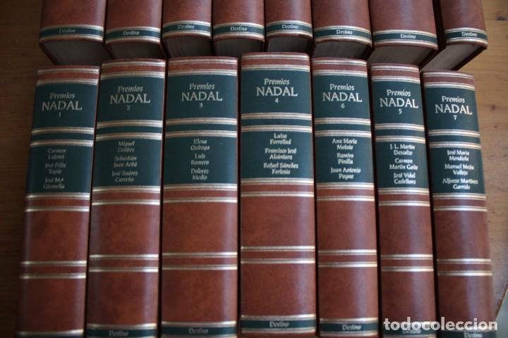Libros de segunda mano: COLECCION 15 LIBROS PREMIOS NADAL EDITORIAL DESTINO - Foto 2 - 156633710