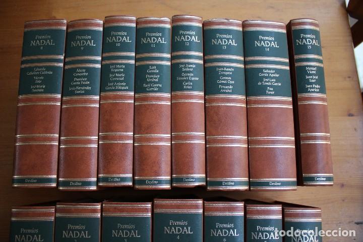 Libros de segunda mano: COLECCION 15 LIBROS PREMIOS NADAL EDITORIAL DESTINO - Foto 3 - 156633710