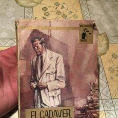Libros de segunda mano: ANTIGUO LIBRO EL CADAVER Y EL DOCTOR MAX MURRAY AÑO 1964 . Lote 156641254