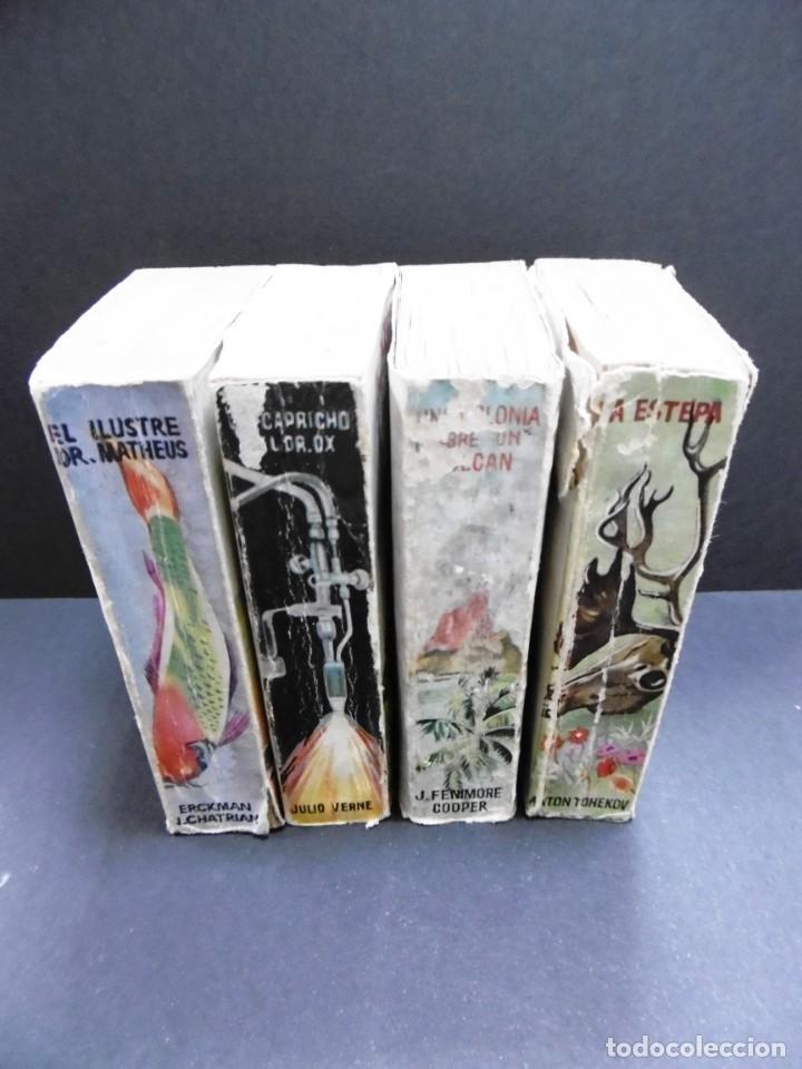 LOTE 4 LIBROS COLECCION ENCICLOPEDIA PULGA (Libros de Segunda Mano (posteriores a 1936) - Literatura - Narrativa - Otros)