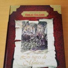 Libros de segunda mano: LOS TIGRES DE MALASIA (EMILIO SALGARI). Lote 157911486