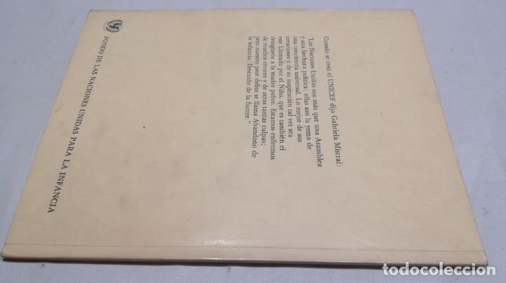 Libros de segunda mano: EL NIÑO EN LA POESÍA DE GABRIELA MISTRAL / FONDO NACIONES UNIDAS PARA LA INFANCIA/ / / D - Foto 2 - 157976086