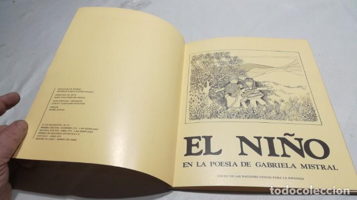 Libros de segunda mano: EL NIÑO EN LA POESÍA DE GABRIELA MISTRAL / FONDO NACIONES UNIDAS PARA LA INFANCIA/ / / D - Foto 4 - 157976086