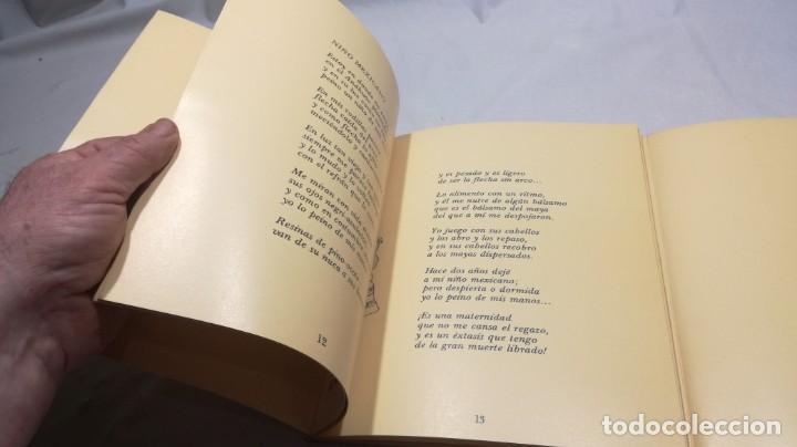 Libros de segunda mano: EL NIÑO EN LA POESÍA DE GABRIELA MISTRAL / FONDO NACIONES UNIDAS PARA LA INFANCIA/ / / D - Foto 10 - 157976086