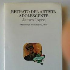 Libros de segunda mano: RETRATO DEL ARTISTA ADOLESCENTE - JAMES JOYCE - ED LUMEN 1995. Lote 158161262