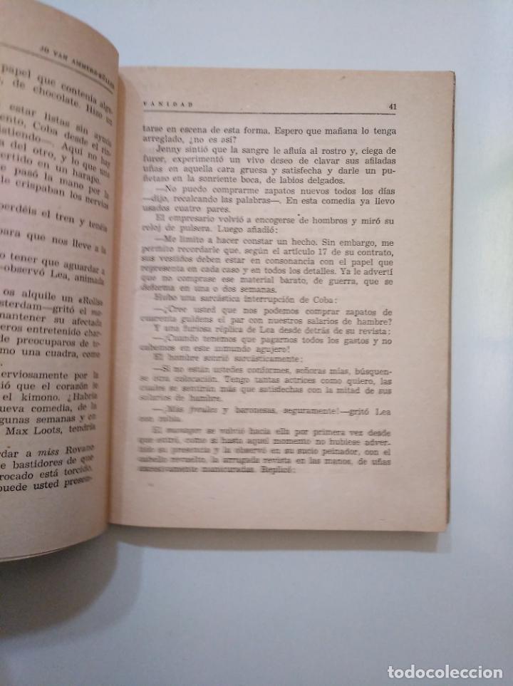 Libros de segunda mano: VANIDAD. - AMMERS-KÜLLER, JO VAN. HISPANO AMERICANA DE EDICIONES. TDK377A - Foto 2 - 158422818