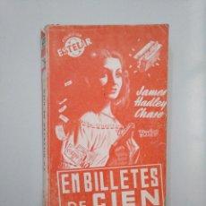 Libros de segunda mano - EN BILLETES DE CIEN. - JAMES HADLEY CHASE. COLECCION ESTELAR. TDK377A - 158430890