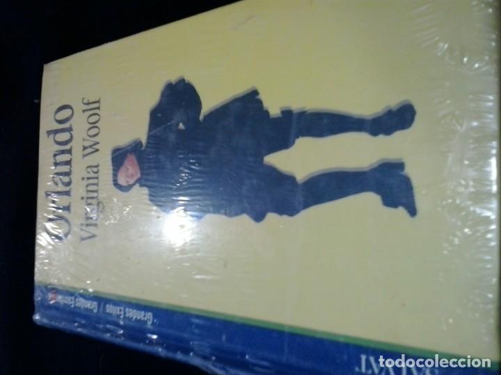 ORLANDO . VIRGINIA WOOLF . SALVAT . NUEVO (Libros de Segunda Mano (posteriores a 1936) - Literatura - Narrativa - Otros)