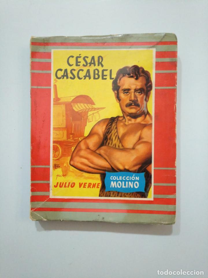 CESAR CASCABEL. JULIO VERNE. COLECCION MOLINO. 1956. TDK379 (Libros de Segunda Mano (posteriores a 1936) - Literatura - Narrativa - Otros)