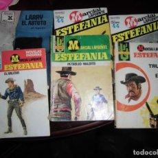 Libros de segunda mano: NOVELAS DE ESTEFANIA. Lote 158847330