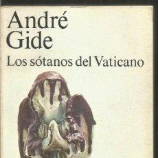 Libros de segunda mano: ANDRE GIDE. LOS SOTANOS DEL VATICANO. ALIANZA. Lote 176336024