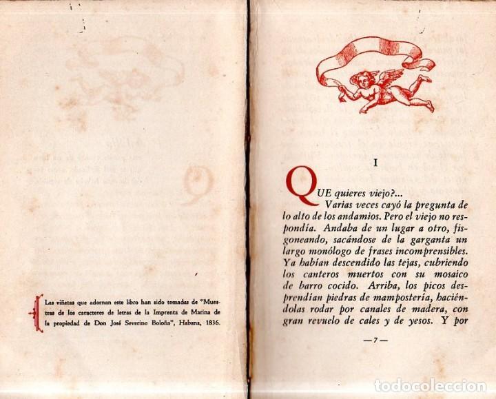 Libros de segunda mano: VIAJE A LA SEMILLA. ALEJO CARPENTIER. LA HABANA, 1944. CON DEDICATORIA Y FIRMA DEL AUTOR. - Foto 5 - 159218898