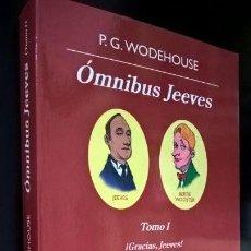 Libros de segunda mano: OMNIBUS JEEVES:TOMO I.GRACIAS,JEEVES,EL CODIGO. P.G. WODEHOUSE.ANAGRAMA OTRA VUELTA DE TUERCA 2010. . Lote 159394550