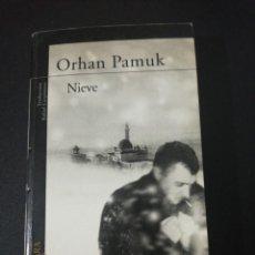Libros de segunda mano: ORHAN PAMUK, NIEVE. Lote 159450862