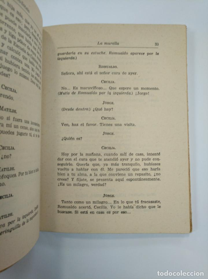 Libros de segunda mano: LA MURALLA. JOAQUIN CALVO-SOTELO -. 1955. TDK383 - Foto 2 - 159561166
