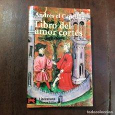 Libros de segunda mano - Libro del amor cortés - Andrés el capellán - 159597352