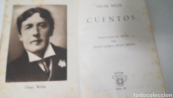 CUENTOS OSCAR WILDE. COLECCIÓN CRISOL ED AGUILAR (Libros de Segunda Mano (posteriores a 1936) - Literatura - Narrativa - Otros)