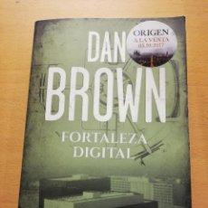 Libros de segunda mano: FORTALEZA DIGITAL (DAN BROWN). Lote 222666217