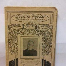 Libros de segunda mano: STQ.EDUART VIDAL.LA BARQUETA DE SANT PERE.LECTURA POPULAR.BRUMART TU LIBRERIA.. Lote 159927646